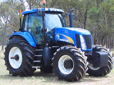 Tractor New HOLLAND Second Hand - 3